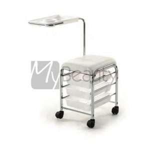 Carrello Per Manicure Service White Bianco XANITALIA