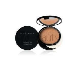 Fondotinta Compatto Crema/Polvere 2Nd Skin Foundation 10Gr MESAUDA