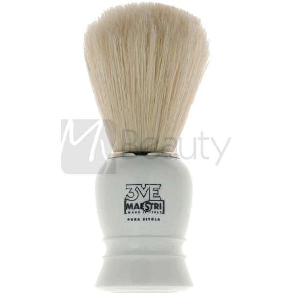 Pennello Da Barba Manico In Plastica Setola Sbiancata 3Me Gentlemen'S Barber Club MAESTRI