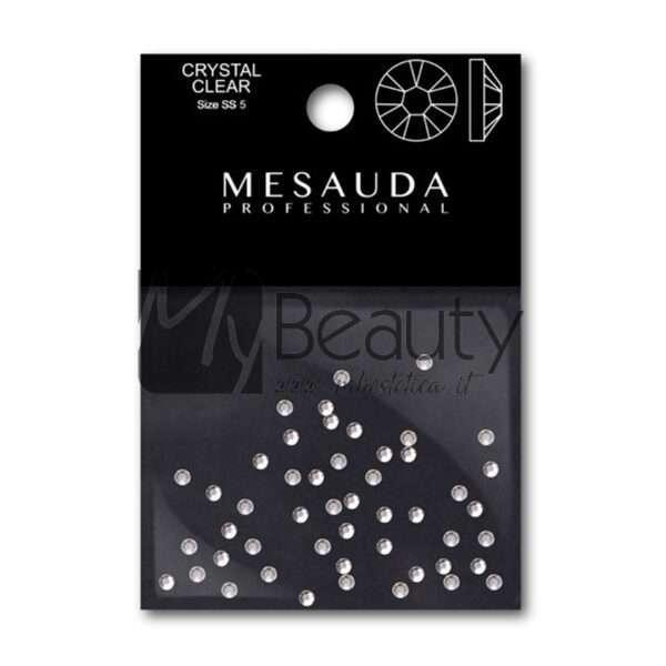 Strass Per Nail Art Trasparenti Crystal Clear 50Pz MESAUDA