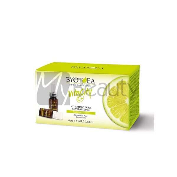 Vitamina C Pura Rivitalizzante 6Pzx5Ml Antipollution Vitacity BYOTEA