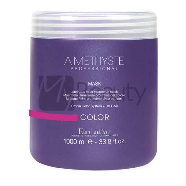 Maschera Protettiva Per Capelli Colorati Amethyste Color Mask FARMAVITA
