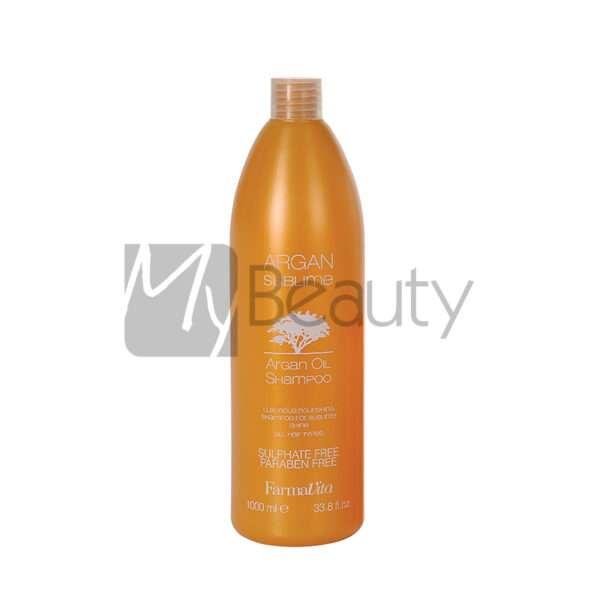Shampoo Nutriente Per Tutti I Tipi Di Capelli Argan Sublime FARMAVITA
