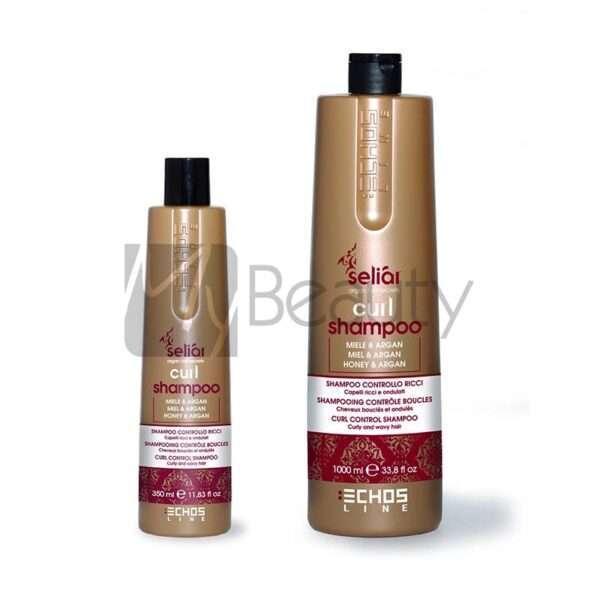 Shampoo Controlla Capelli Ricci/Ondulati Curl ECHOS