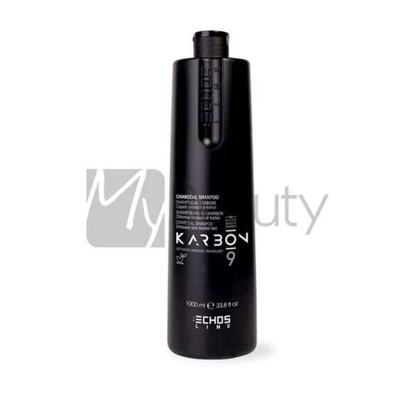 Shampoo Per Capelli Stressati Karbon Charcoal ECHOS