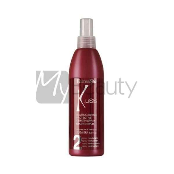 Spray Ristrutturante Restructuring Protective Keratin Spray K.Liss 250Ml Farmavita