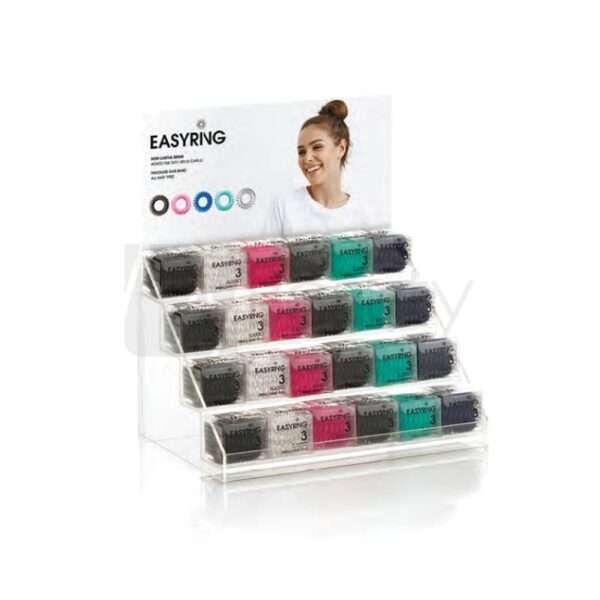 Elastici In Gomma Easy Ring Colori Assortiti Display 24Pz/Singolo XANITALIA