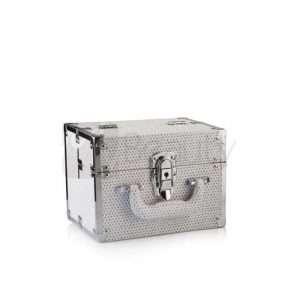 Beauty Case Da Viaggio Glitter Bianco LABOR