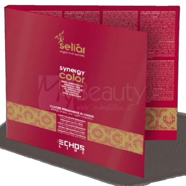 Cartella Colore Senza Ammoniaca Synergy Color 63 Ciocche ECHOS