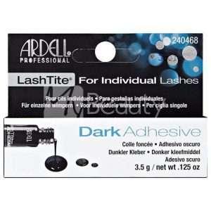 """Colla Adesiva Per Ciglia Finte """"Individuals"""" Lashtite Adhesive Clear/Dark Lash Adhesives 3,5Gr ARDELL"""