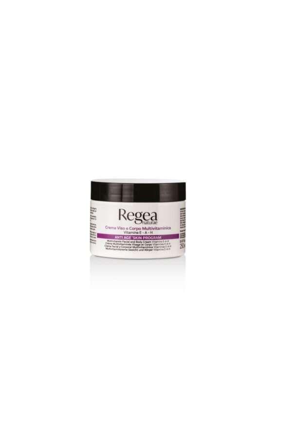 950.310 crema viso e corpo multivitaminica vitamine E-A-H 250ML REGEA