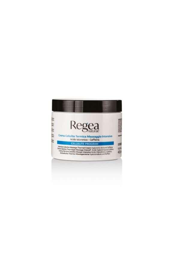 950.323 Crema cellulite termica massaggio intensivo acido ialuronico e caffeina 400ml REGEA