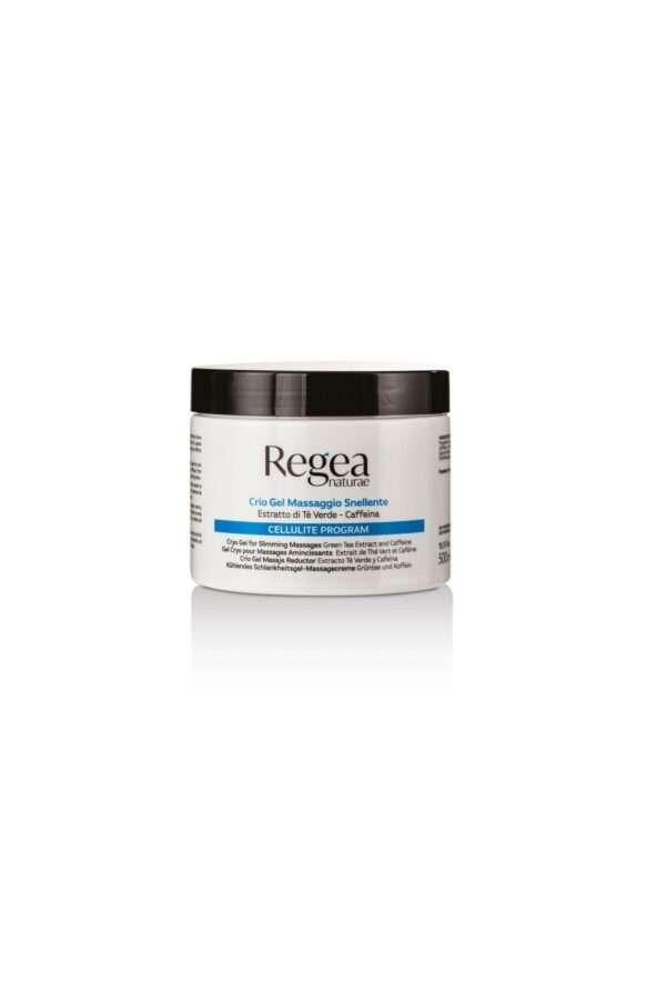 950.325 Crio gel massaggio snellente estratto di te verde e caffeina 500ml REGEA