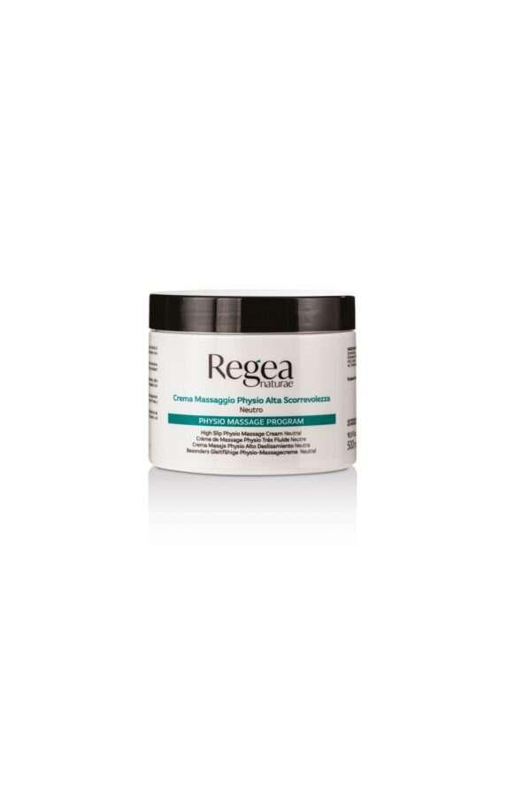 950.332 Crema massaggio physio alta scorrevolezza neutro 500ml REGEA