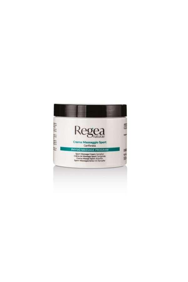 950.334 Crema massaggio sport canforata 500ml REGEA