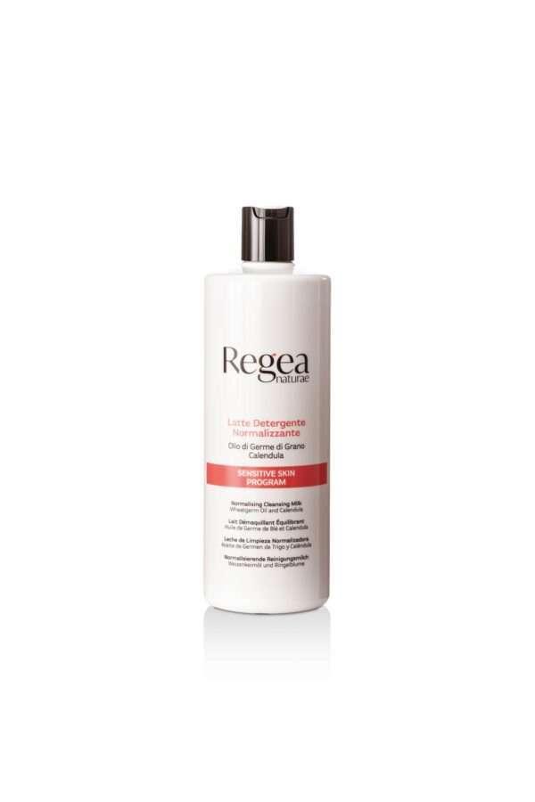 950.335 Latte detergente normalizzante olio di germe di grano e calendula 500ml REGEA