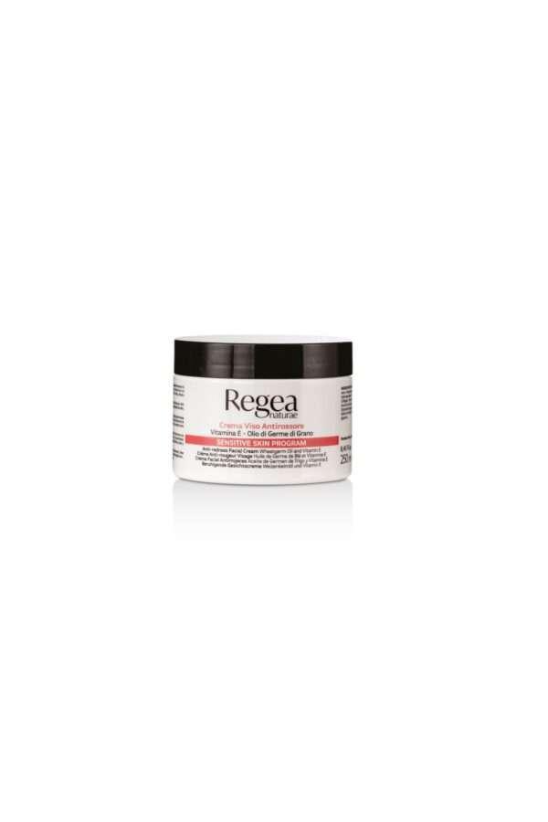 950.338 Crema viso antirossore vitamina E e olio di germe di grano 250ml REGEA