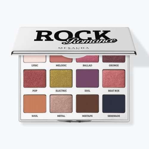 Mesauda Palette 12 Ombretti Rock Romance