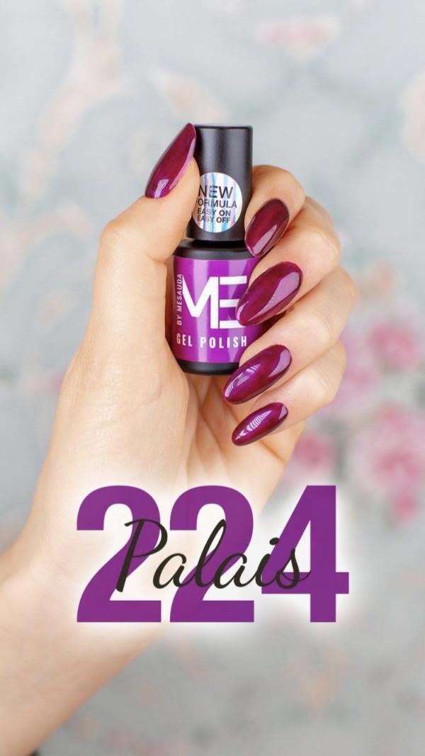 Gel polish new formula ME By Mesauda Palais 224