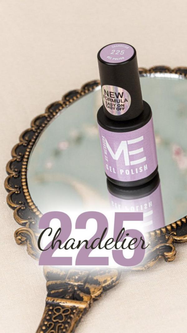 Gel polish new formula ME By Mesauda Chandelier 225