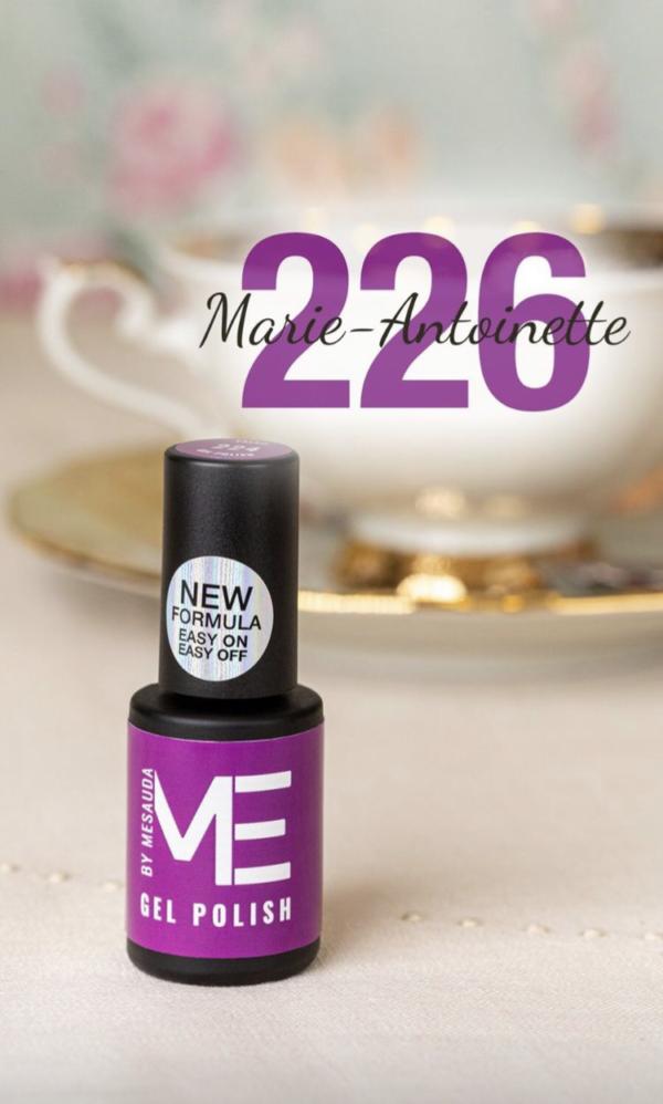 Gel polish new formula ME By Mesauda Marie-Antoniette 226