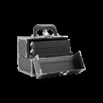 VL0429A beauty mini strass nero aperto bauletto melcap