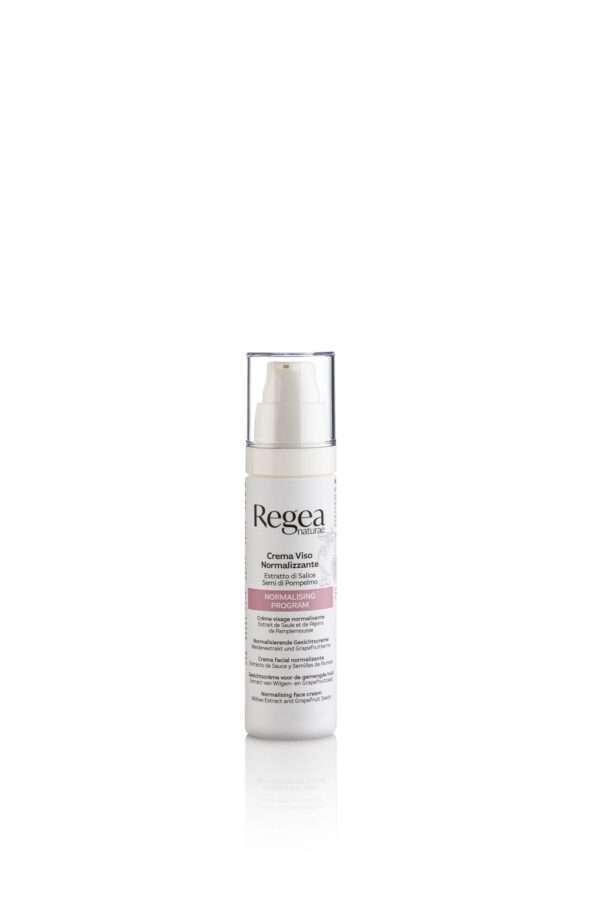 950.366 Crema viso normalizzante estratto di salice e semi di pompelmo 50ml REGEA