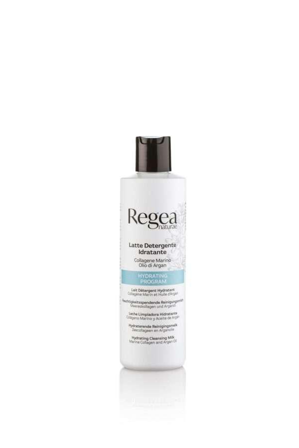 950.376 Latte detergente idratante collagene marino e olio di argan 250ml REGEA