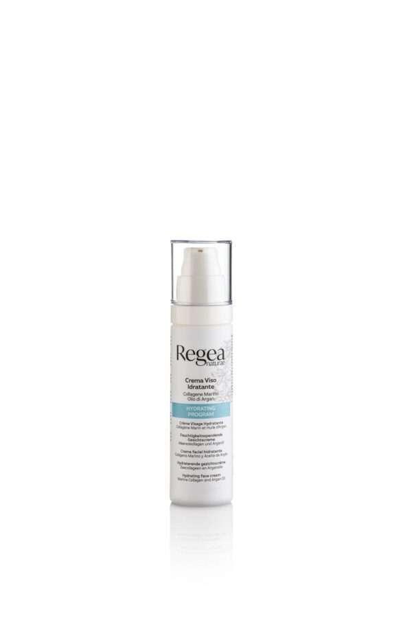 950.378 Crema viso idratante collagene marino e olio di argan 50ml REGEA