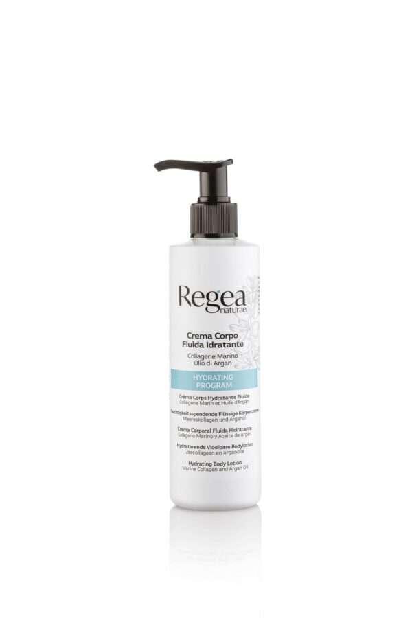 950.379 Crema corpo fluida idratante collagene marino e olio di argan 250ml REGEA
