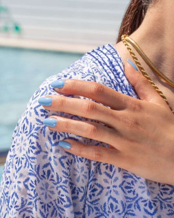 Santorini Collection Mesauda MNP top notch iconic 260 mati azzurro pastello