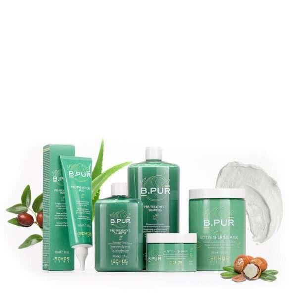 B. Pur Echosline nuova linea di trattamenti per capelli