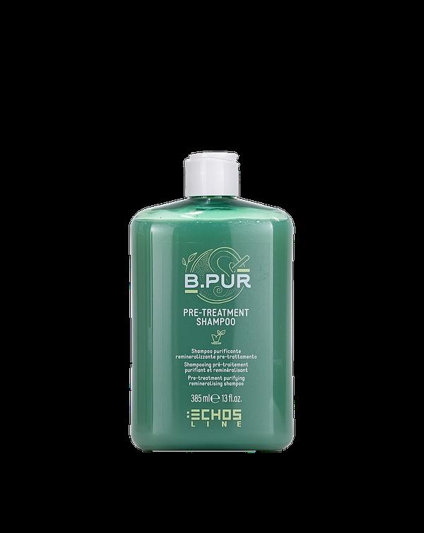 shampoo purificante remineralizzante pre treatment shampoo b pur Echosline