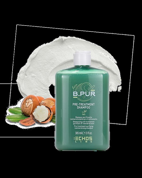 shampoo purificante remineralizzante pre treatment shampoo b pur vegan Echosline